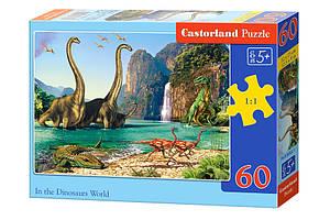 Пазлы Castorland на 60 элементов Динозавры B-06922