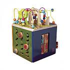 Развивающая Деревянная Игрушка - Зоо-Куб Battat BX1004X, фото 2