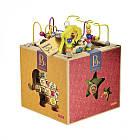 Развивающая Деревянная Игрушка - Зоо-Куб Battat BX1004X, фото 3