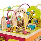 Развивающая Деревянная Игрушка - Зоо-Куб Battat BX1004X, фото 7