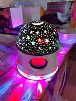 Диско шар LED Crysal Magic Ball Light BLUETOOTH Ночник