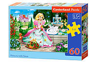 Пазлы Castorland на 60 элементов Принцесса с лебедем B-066056