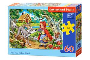 Пазлы Castorland на 60 элементов Красная шапочка B-066117