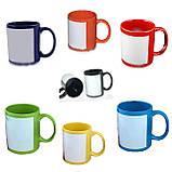 Печать на цветной чашке 330мл с местом для печати, фото 2