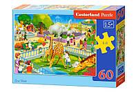 Пазлы Castorland на 60 элементов Зоопарк B-066155