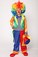 Дитячий костюм Петрушка, клоун, блазень, фото 1