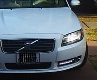 Штатные дневные ходовые огни (DRL) для Volvo S80