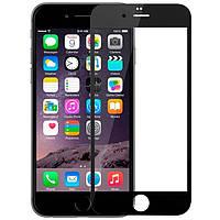 Защитное стекло 2.5D Apple iPhone 6, 6S Plus (5.5) Черный рамка 2.5D (0.26mm)