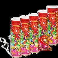 Набор хлопушек Конфетти PR-24, длина хлопушки: 10 сантиметров, начинка: бумажное конфетти