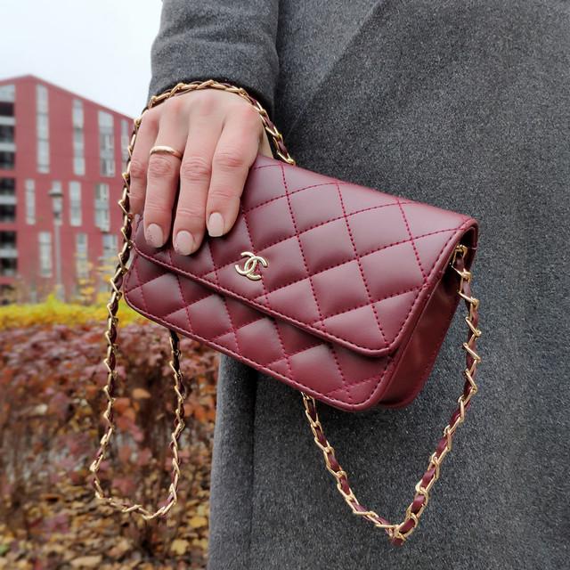 Клатч сумочка маленький женский бордовая
