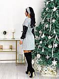 Платье из ангоры с пайеткой 50-624, фото 7