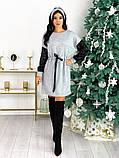 Платье из ангоры с пайеткой 50-624, фото 4