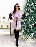 Платье из ангоры с пайеткой 50-624, фото 5