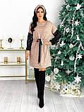 Платье из ангоры с пайеткой 50-624, фото 6