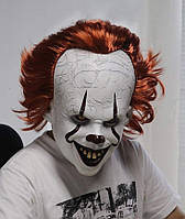 Маска Джокер с рудим волоссям Стівен Кінг