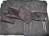 Утеплені джинси на хутрі, фото 4