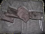Утеплені джинси на хутрі, фото 6