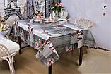 Скатерть клеенка 3D 110-140 см «Ветки Сакуры», фото 2