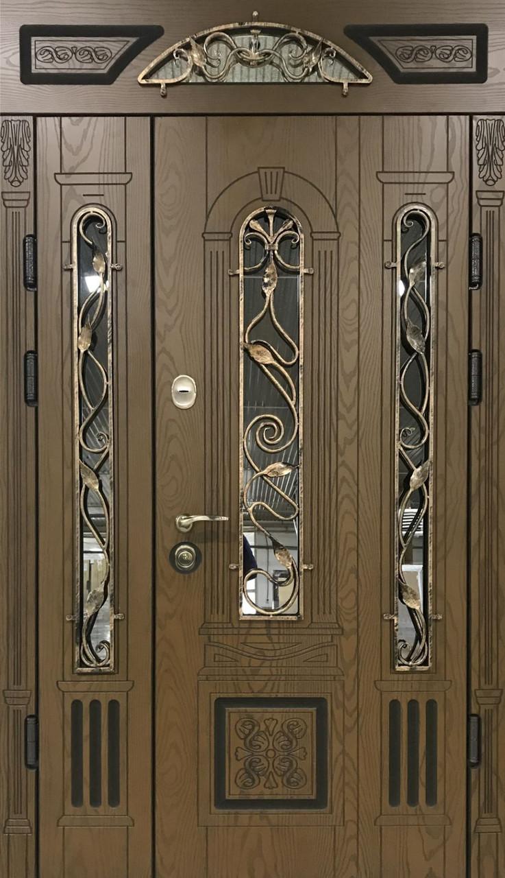 """Двері вхідні полімерні """"Prestige"""" склопакет 20-51"""