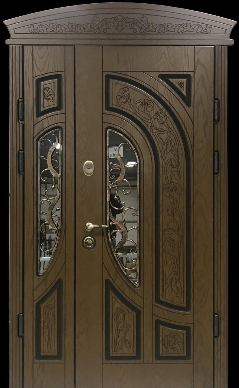 """Двері вхідні полімерні """"Prestige"""" склопакет 20-53"""