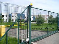 Заборы, ворота, калитки из сетки