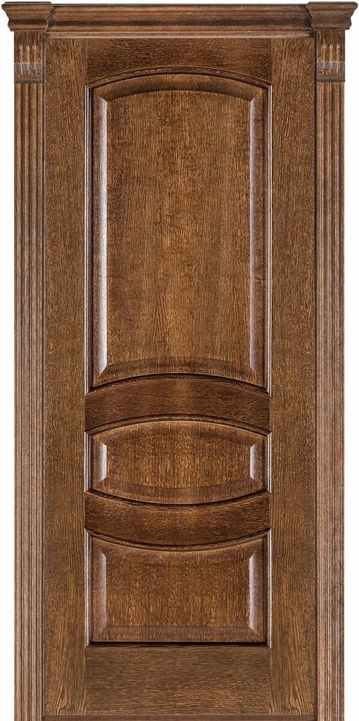Двері міжкімнатні Terminus Модель 50 Дуб браун, глуха, 60см