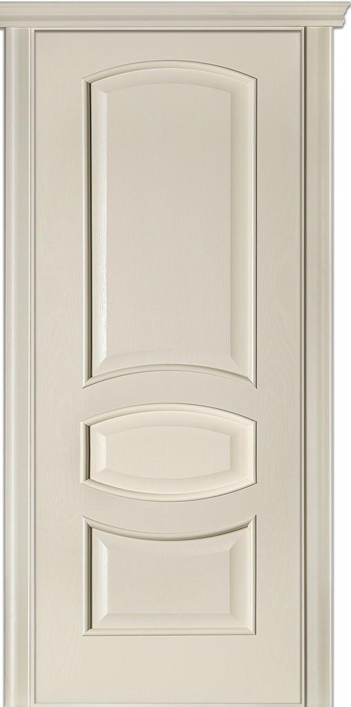Двері міжкімнатні Terminus Модель 50 Ясен Crema, глуха, 80см