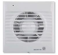 Вытяжной вентилятор Soler & Palau DECOR 100 CR с таймером и клапаном, фото 1