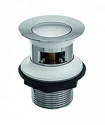 Донний клапан Invena, латунний, click-clack, грибоподібний, малий, SC-B1-027