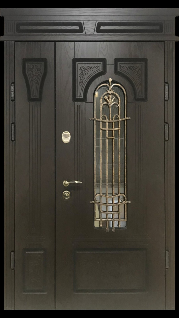 """Двері вхідні полімерні """"Prestige"""" склопакет 20-50"""