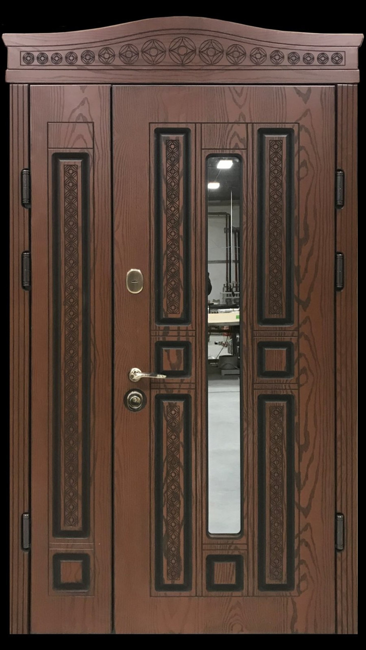 """Двері вхідні полімерні """"Prestige"""" склопакет 20-52"""