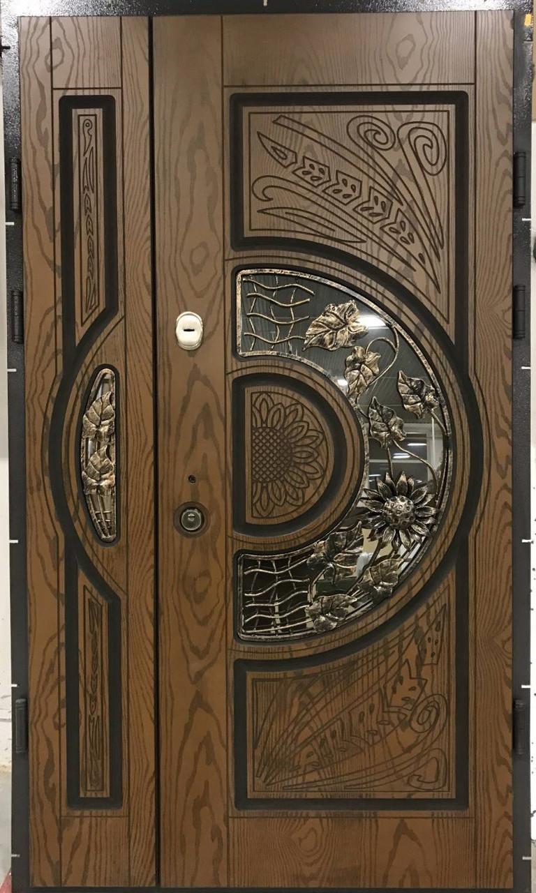 """Двері вхідні полімерні """"Prestige"""" склопакет 20-55"""