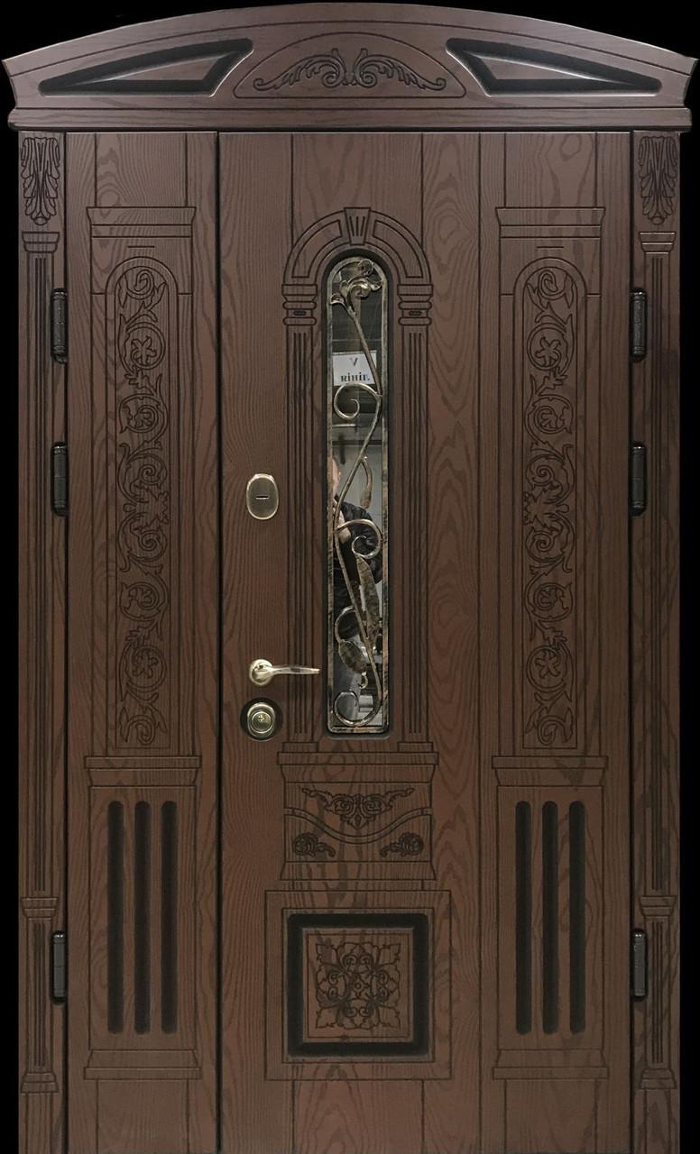 """Двері вхідні полімерні """"Prestige"""" склопакет 20-58"""