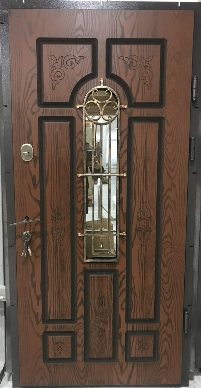 """Двері вхідні полімерні """"Classic"""" склопакет 20-65"""