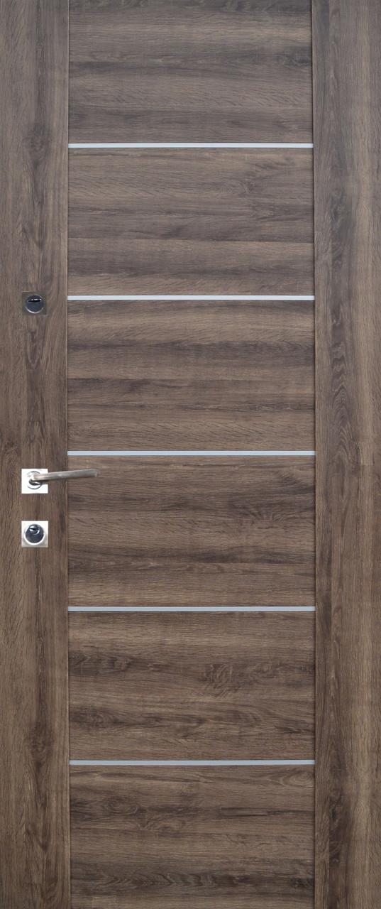 """Двері вхідні """"Prestige"""" Лакобель 20-33"""