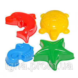 """Іграшка """"Формочка для піску 24х20х10см ТехноК"""" 4845"""