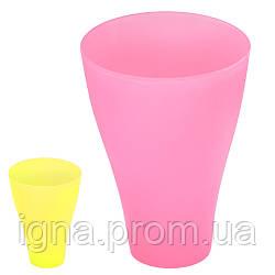 Стакан пластик 400мл PT-83702 (60шт)