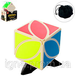 Кубик 6007 (96шт) 5,5 см, підставка, чехол, в слюді, 9-13-6,5 см