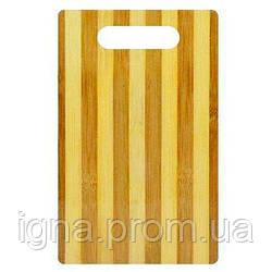 Доска разделочная бамбук 30*20*0.7см WHW21746-5 (120шт)