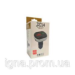 FM модулятор X14 2USB 2.1A