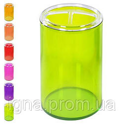 Подставка для зубных щеток 7.5*12см 12204/WHW15878-1 (72шт)