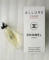 Мини-парфюм для мужчин Chanel Allure homme Sport (30 мл)