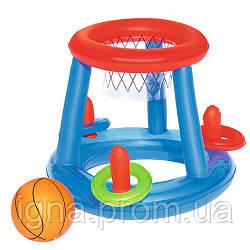 BW Игровой центр 52190 (36шт) баскетбол,мяч,кольца,ремкомплект,в кор-ке,