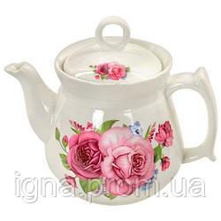 """Заварник """"Букет троянд"""" 1л R81681 (24шт)"""