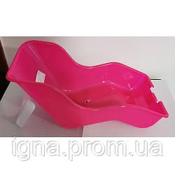 Сидіння для ляльки AS1904 (1шт)універсальне, пластик,размер23-15,5-32см, кріплення(метал),малиновий