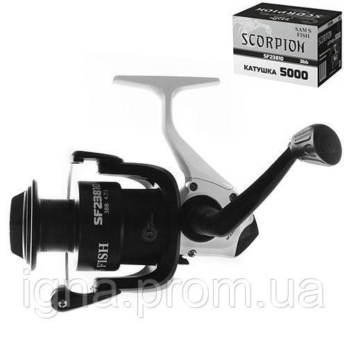 "Катушка ""Scorpion"" 5000 3bb пластик. шпуля SF23810 (40шт)"