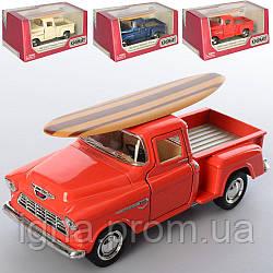 Машинка KT 5330 WS1 (24шт) металл,инер-я, 12см, резин.колеса, открыв.двери,4цв,в кор-ке,16-7,5-8см