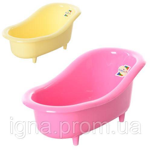 Ванночка для куклы ОРИОН 436 (260x140x120 мм)