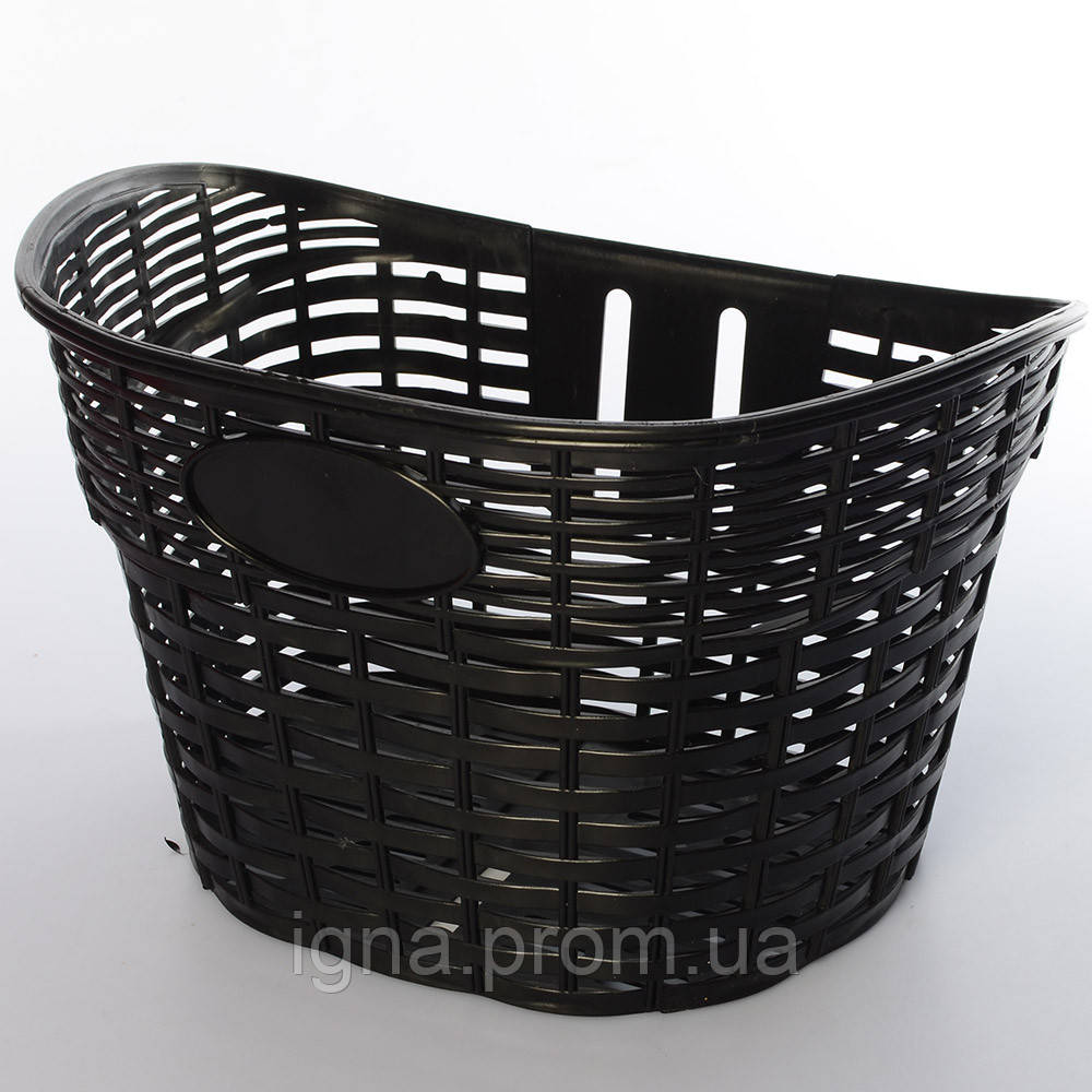 Корзина AS1907 (1шт) для 12-16д, пластик,размер 26-17-20см, черный