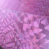Фоамиран Голография розовый металлик 30*21см упаковка, фото 2